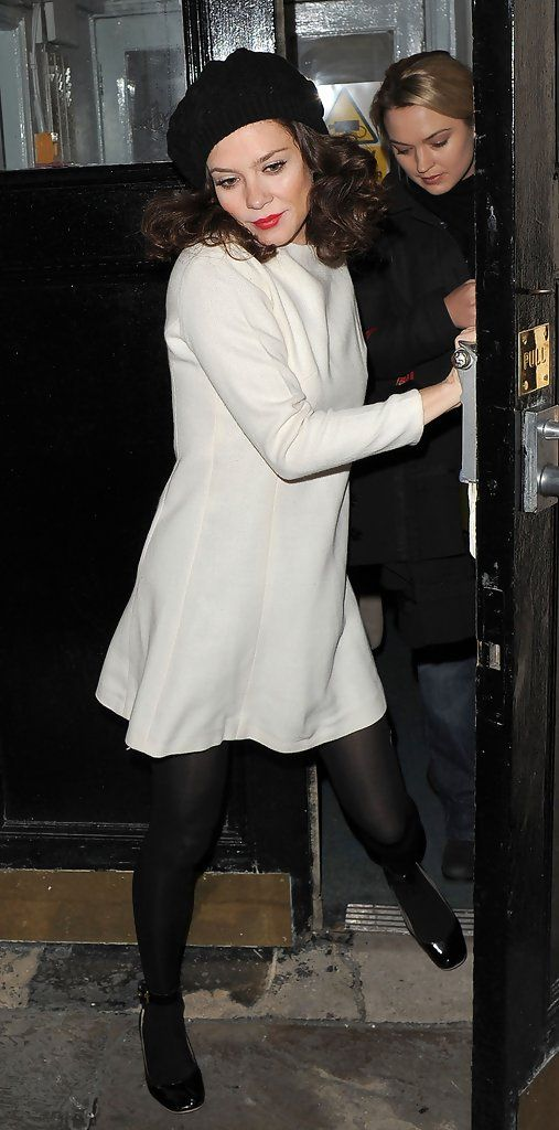 Anna Friel Photos: Anna Friel Leaves Theatre Royal Haymarke