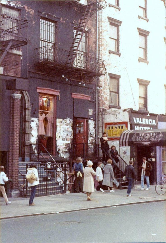 Saint Marks Place, New York City, 1982.