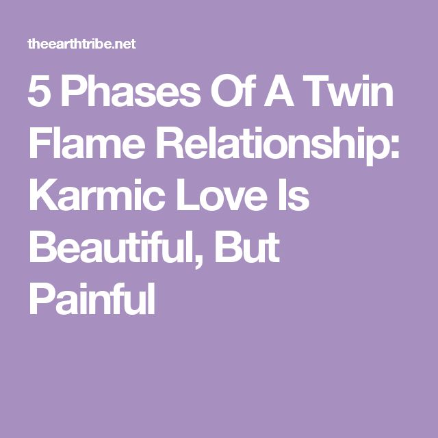 5 Phases Of A Twin Flame Relationship: Karmic Love Is Beautiful, But Painful