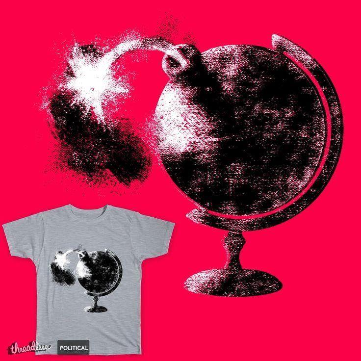 The globe of war on Threadless