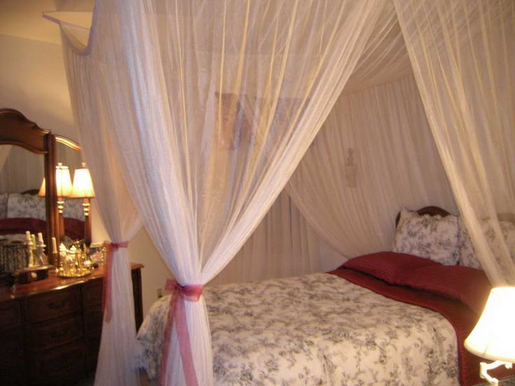 Attractive DIY Canopy Bed: Coolest Way To Decorate Your Bedroom: DIY Canopy Bed With  Decorative