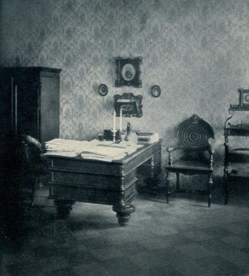 Dostoyevsky's study