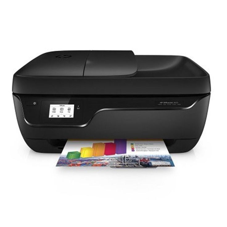 HP OfficeJet All-in-One Printer Scanner Copier Fax Touchscreen Wireless Printing #HP
