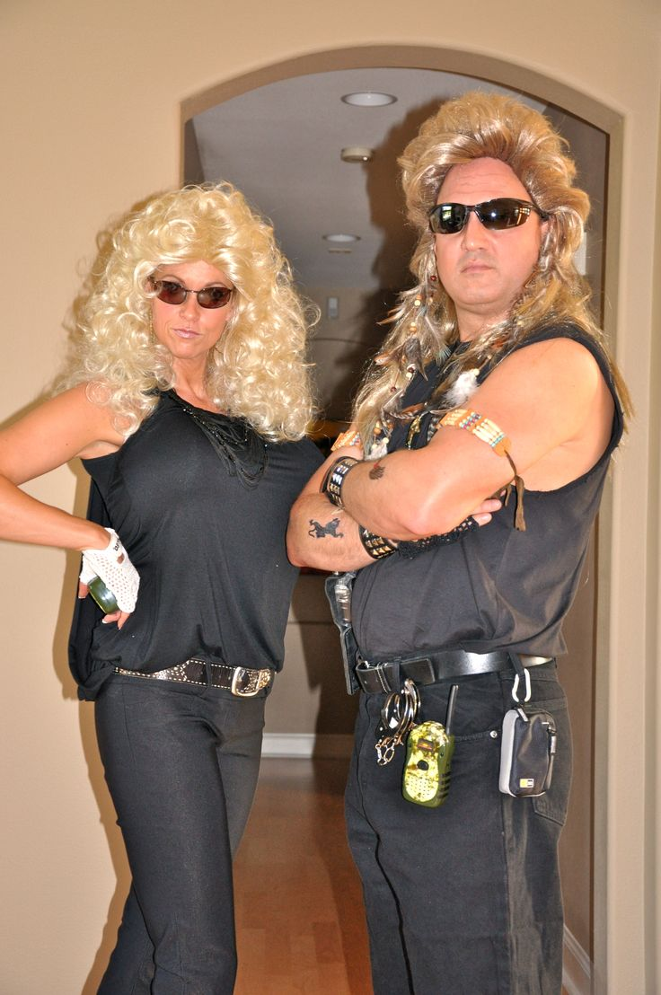 dog the bounty hunter and beth halloween costume ideas