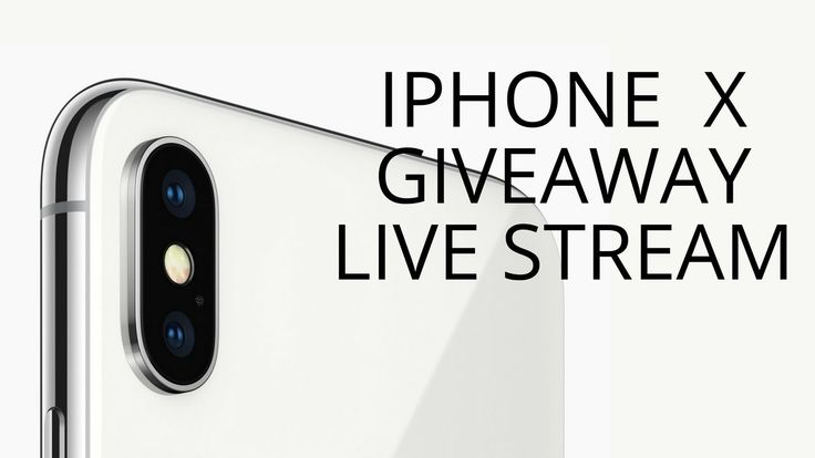 iPhone X FREE Giveaway Live Stream | iPhone 10 FREE LEGIT Giveaway