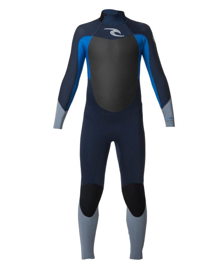 Junior Dawn Patrol 43mm Back Zip Wetsuit Steamer | Girls Wetsuits | Rip Curl Australia