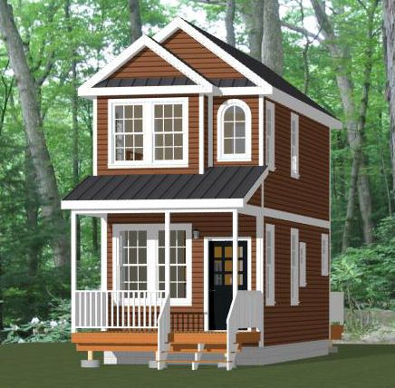 12x28 Tiny House 12x28h4 605 Sq Ft Excellent