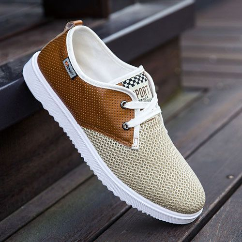 2017 Hot Sale Men Summer Shoes Breathable Male Casual Shoes #YoungMensFashion