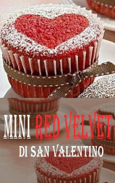 mini red velvet di San Valentino