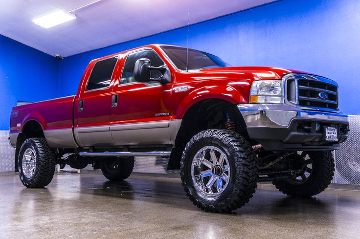 Monster 7.3L Powerstroke Diesel 2002 Ford F-350 Lariat 4x4 Lifted Truck For Sale | Northwest Motorsport