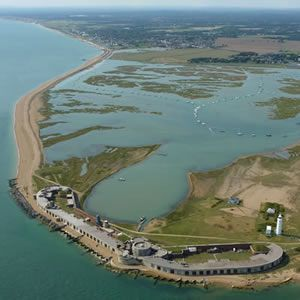 Hurst Castle - Charles 1st was imprisoned here before being taken to London where he was executed