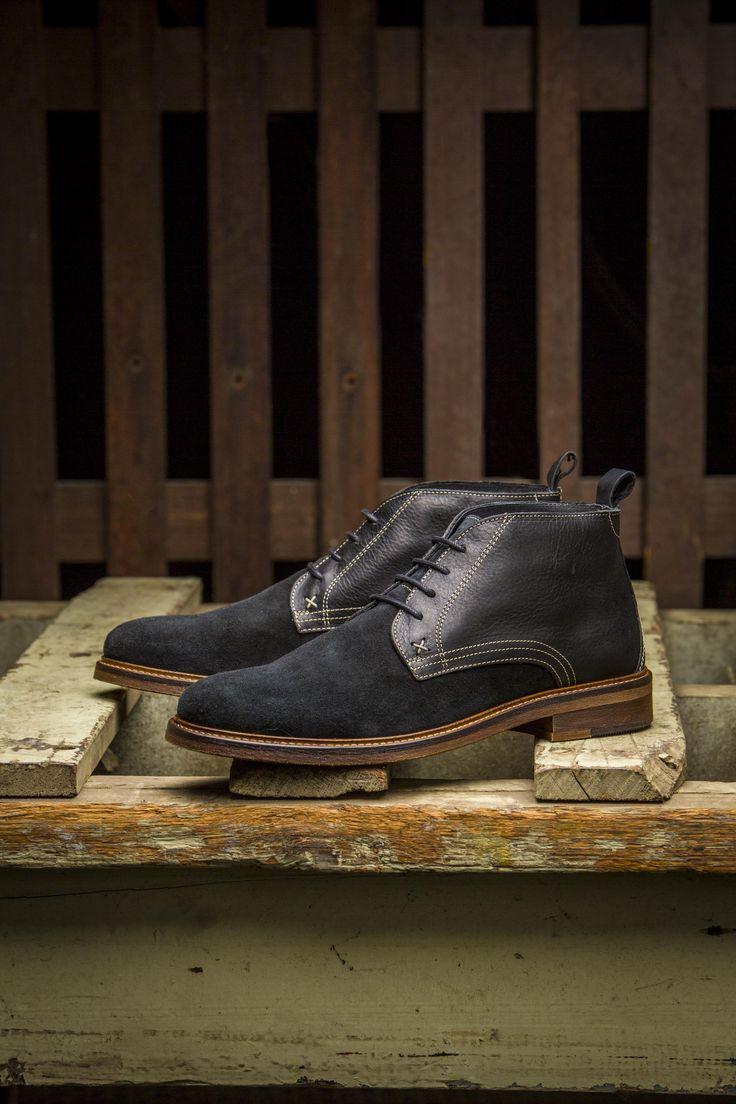 #Since1883 Hensel Desert Boot (Black)