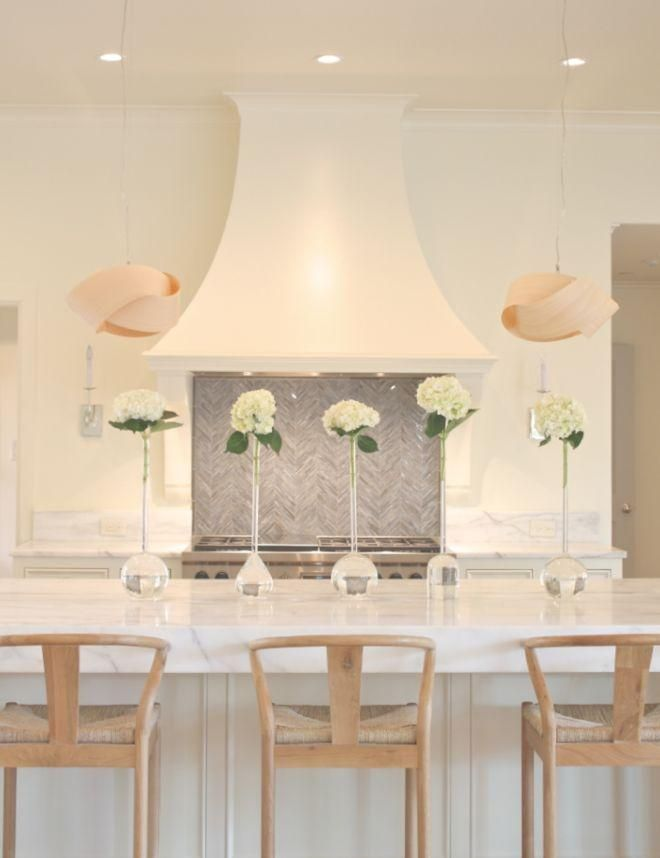It S All About The Neutrals For An All White Kitchen