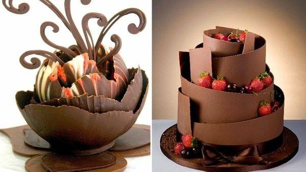 19++ Torten dekorieren mit schokolade ideen