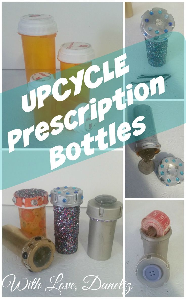The 25 best prescription bottles ideas on pinterest for Things to do with pill bottles