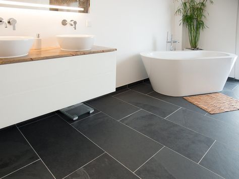 37 best Bad mit Naturstein-Fliesen images on Pinterest Natural - weißes badezimmer verschönern