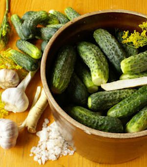 15 Homemade Pickle Recipes   (several of which do not require canning) -both my boys love pickles!