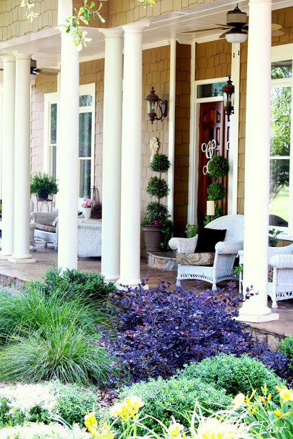 708 best porch decorating ideas images on pinterest for Southern front porches