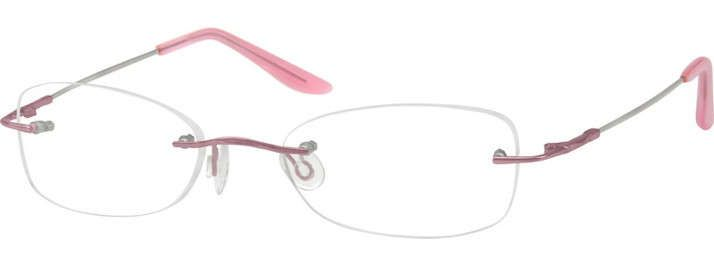 Red Rimless Glasses : 17 Best images about Glasses on Pinterest Eyewear ...