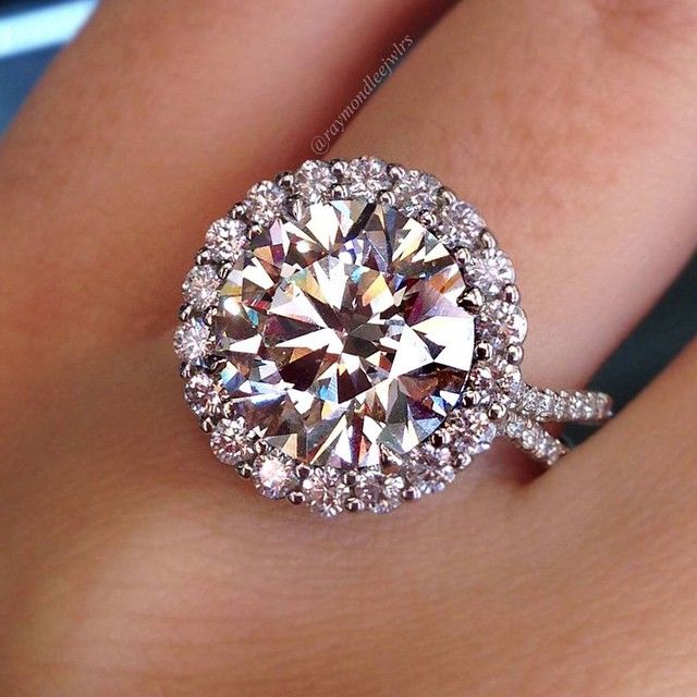 Halo Style Engagement Ring