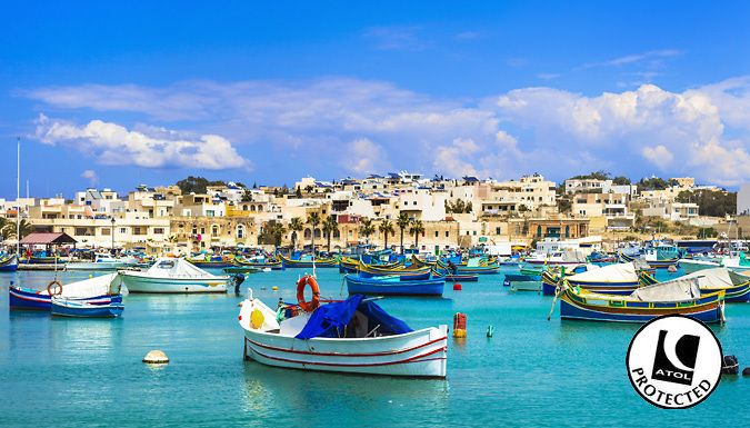 UK Holidays: St. Pauls Bay, Malta: 14-Night All-Inclusive Hotel Stay With Flights - Up to 30% Off for just: £349.00 Marvel at Malta with a 14-night all-inclusive break at one of 3 fantastic hotels      Stay at theBugibba Hotel,Hotel Caniforor theBella Vista Hotel      Dine at the hotel restaurants, with all meals and drinks included - bliss.      Stay in an en suite, air-conditioned...