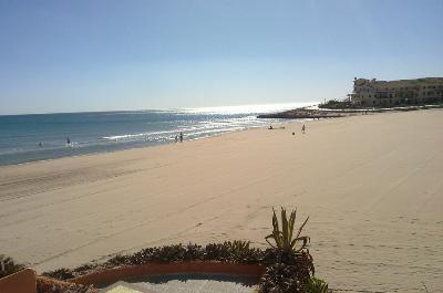 La Zenia beach, Costa Blanca. Spain