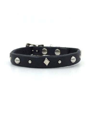 Cleo leather collar