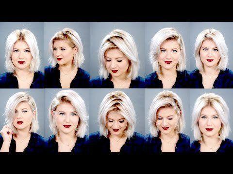 10+Ways+To+Part+Your+Hair+|+Milabu