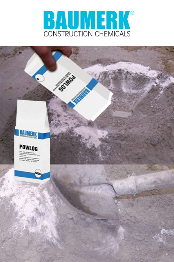 Powder Waterproofing Admixture Powlog Damp Proofing Powder Chemicals
