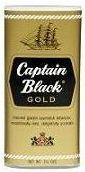 Captain Black Pipe Tobacco Gold - 6 Pack of 1.5 oz Pouches