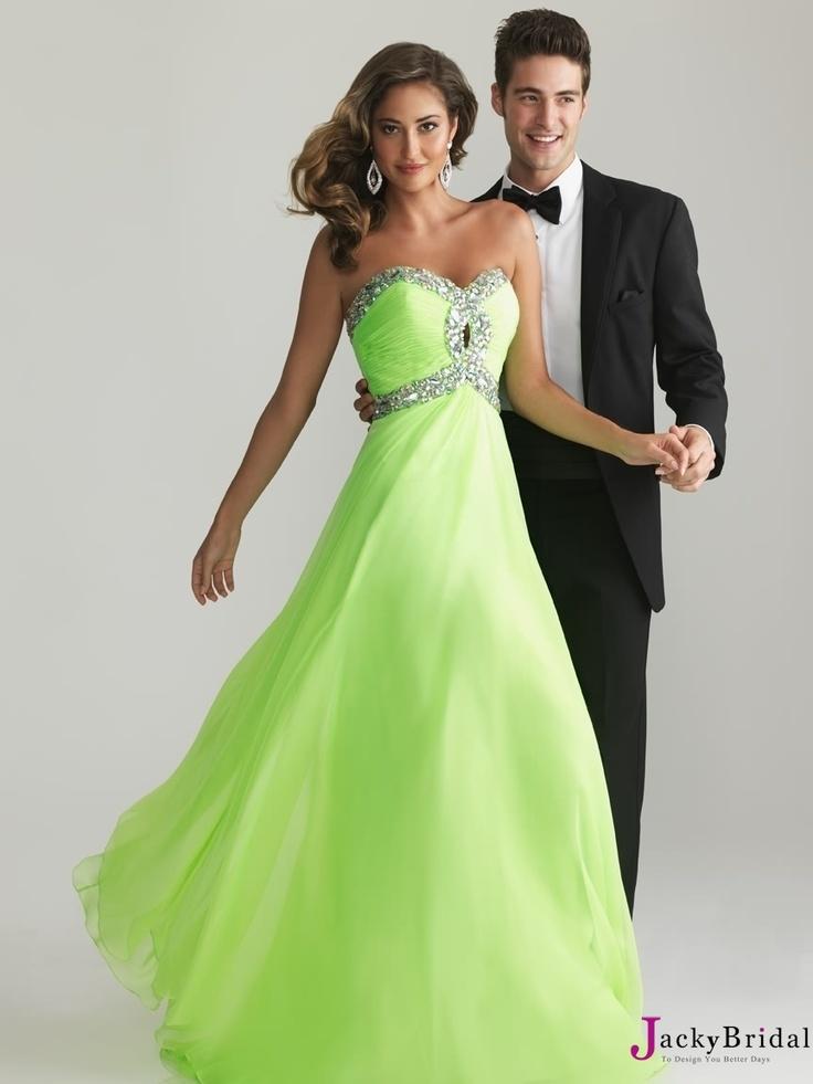 Top Selling A Line Sweetheart Floor-Length Chiffon 2013 Prom Dress