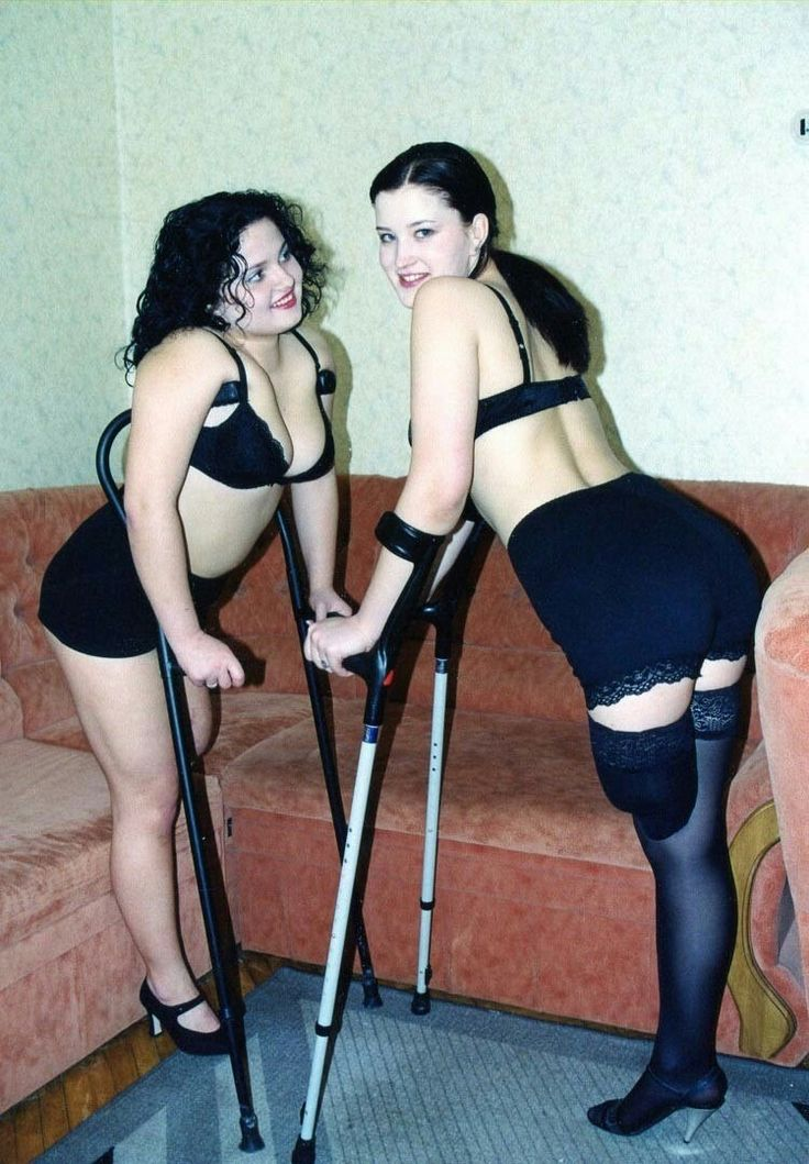 amputee women in stockings