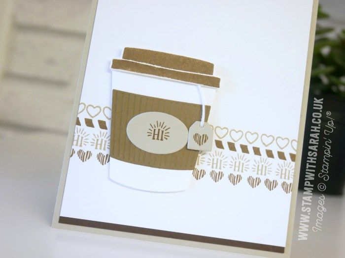 Sarah Berry Stampin' Up! UK Independent Demonstrator | A cuppa with the Coffee Café Bundle As soon as I saw this bundle in the new Stampin' Up! Annual Catalogue, I know I HAD to have it…