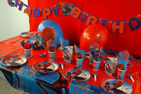 10 best anniversaire spiderman images on pinterest. Black Bedroom Furniture Sets. Home Design Ideas