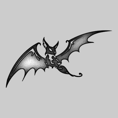 67 best images about bat tattoos and inspirations on pinterest foxes baby bats and toronto canada - Dessin dragon japonais ...