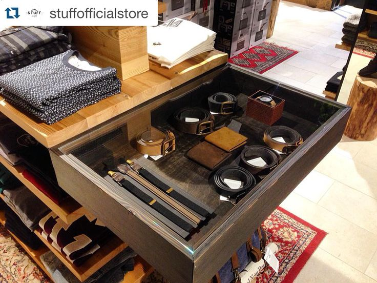 Curtesy repost: @stuffofficialstore!!  ・・・ Secret Drawer with @kjoreproject's Belts!!  #stuff #stuffarco #quality #good #photo #igers #clothing #shop #kjoreproject #accessories #wallet #belt #leather #newzealand #wood #design #furniture #wood #design #nordic #clothes #store @kjoreproject