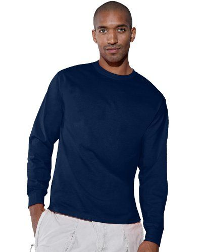 f9209bf9 Discover Hanes Mens 6.1 oz. Tagless ComfortSoft Long-Sleeve T-Shirt (5586).  Explore our Men Fashion section featuring new #shopping ideas of the best  ...