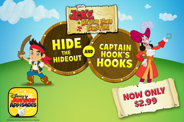 The Jake and the Never Land Pirates Appisode will only be available at that price for a limited time!