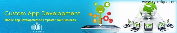 #App_Development - #Cyberique one of the leading #Mobile #Application #Development Company offering Mobile App Development Services across the India & all world. See more: http://www.cyberique.com/app-development-service.php