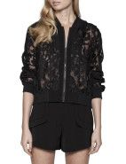 Cameo Locked Up Bomber $139.00 #sportluxe #fashion #trend #luxe #style #davidjones #sport #cameo #bomber #jacket