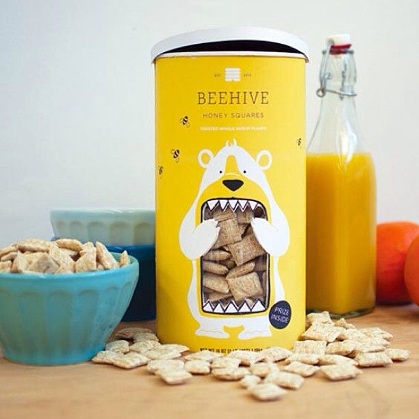 Really funny packaging design, I want to eat!
