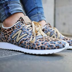 """New balance 420 """"Animal Print""""  I love these sneakers. They are also available with a cute snake print in grey."""