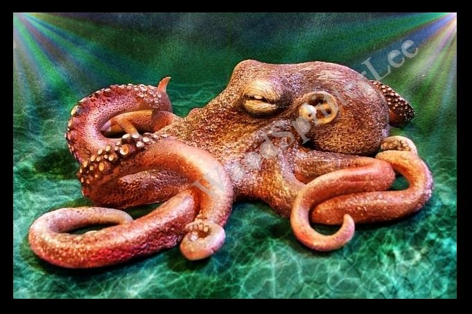 Sculpted Octopus by Wood-Splitter-Lee.deviantart.com