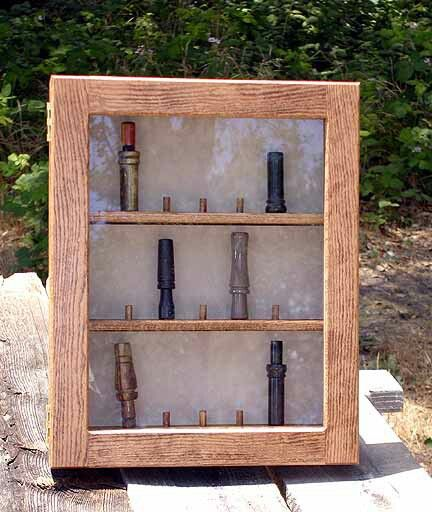 Duck Call Display Case