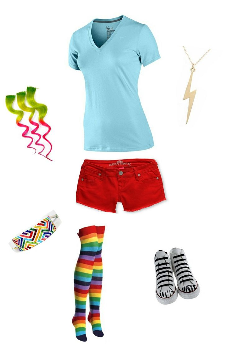 80 Best Rainbow Dash Outfits Images On Pinterest Rainbow