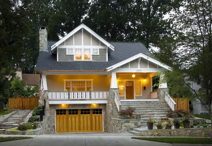 Craftsman style house plans anatomy and exterior - What is a bungalow style home ...