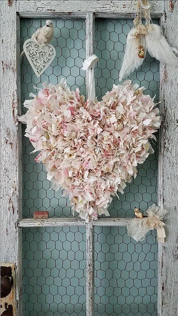 Corazón corazón de alambre tela corazón corazón de color