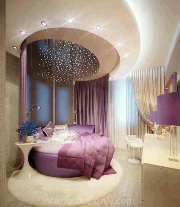 Royal purple bedroom ideas