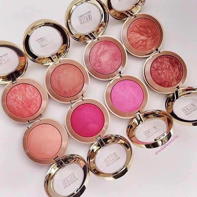 Milani Baked Blushes (Can get at CVS or Target, any color but Rose D'oro, Bella Rose, and Delizio Pink)