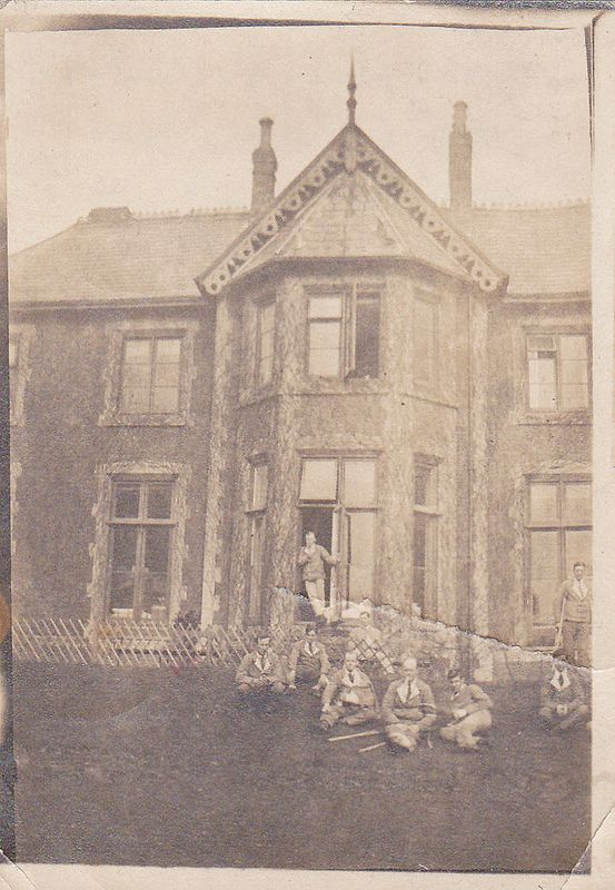 Lordswood Maternity Hospital, Harborne, Birmingham.  I was born there in 1952.  The photograph shown was taken around 1916 when it was used as a military hospital for wounded soldiers from the First World War.
